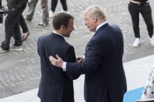 La visite de Donald Trump en France