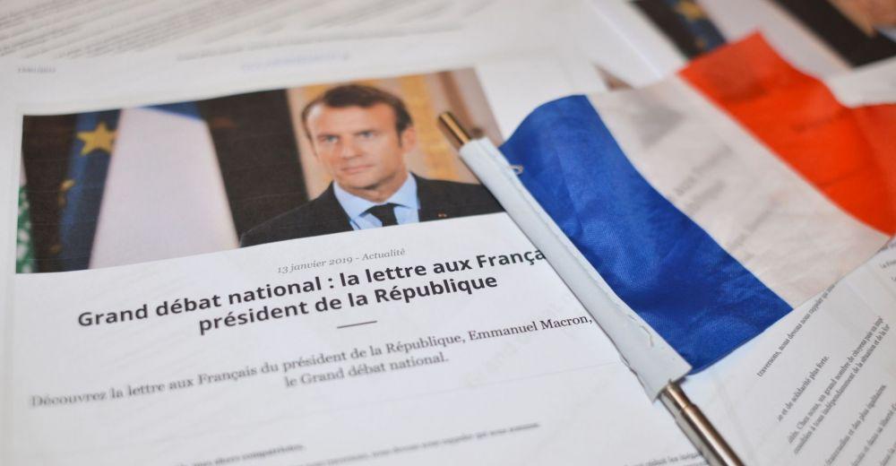 Que dit la lettre du président Macron ?