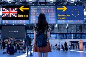 Femme qui doit faire un choix face au brexit