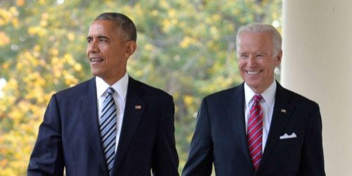 Biden et Barack Obama