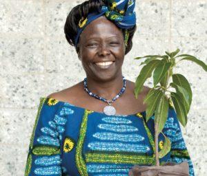 Wangari Maathai, la femme prix Nobel qui plantait des arbres